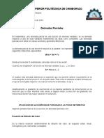 Aplicaciones físicas de las derivadas parciales