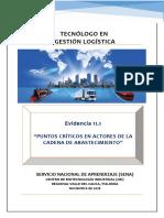 Evidencia 11.1 Puntos Criticos en Actores de la Cadena de Abastecimiento.docx