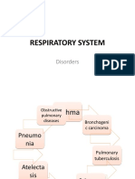 respiratory system disorder