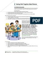 Healthy Eating Menu Planner Tips Recipes PDF