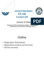 Electrical Machines Lec 4