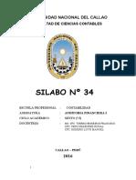 N_ 34 AUDITORIA FINACIERA I