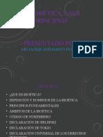 la biotica y sus principios Dr. ANDAMAYO