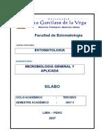 III SILABO MICROBIOLOGIA GRAL APLICADA