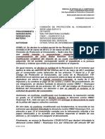 485-2014 - Sr. Bastidas VS CMAC BANCO - Idoneidad del Ser. - IMPORTANTE - CAMBIA IMPUTACIÓN - NO ATENDIO RECLAMO - SOLICITUD DE  GESTIÓN.pdf