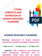 Module 1 (PPT) INTRODUCTION, CONCEPTS AND DEFINITION OF HUMAN RESOURCE