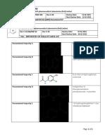 paracetamol impurity profile