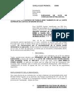 demanda de ejecución de conciliación extrajudicial