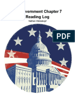 AP Government Chapter 7 Reading Log