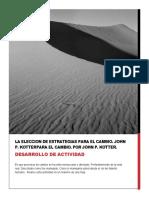 LA ELECCION DE ESTRATEGIAS para el cambio.docx