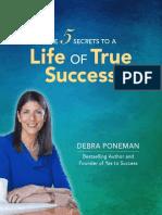 The 5 Secrets to a Life of True Success.pdf