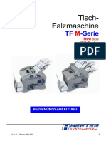 Hefter Systemform TF Multi Bedienungsanleitung