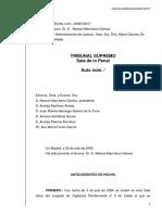 El Tribunal Suprem denega i revoca l'aplicació a Carme Forcadell de l'article 100.2
