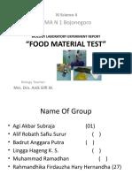 Biology Laboratory Experiment Report