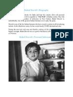 Rahul Dravid Biography.pdf
