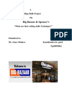 Project Report on Selling Skills