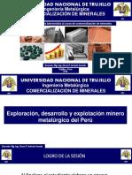 1° CLASE - PRODUCCION MINERO MET DEL PERU - 2020-1