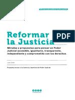 Reformar La Justicia