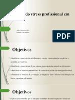 Gestão do stress profissional em saúde