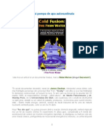 Cold Fusion and Water Pump