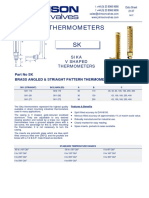 Data Sheet No. 21.07 - SK Thermometer