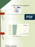 Redes sociales para e_commerce