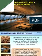ORGANIZACION DE SALONES Y MESAS