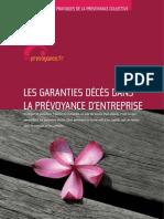"""Guide pratique """"Les garanties décès dans la prévoyance d'entreprise"""""""