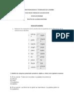 ejercicios de sustantivos adjetivos y verbos