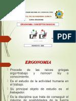 ERGONOMIA-CONCEPTOS BASICOS