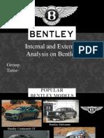 Bentley I&E analysis