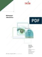 Bio Metrics Whitepaper