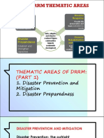 THEMATIC AREAS OF DRRM