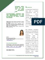 Hernández Molina, L.- T.O. en AVD en ACV (artículo)