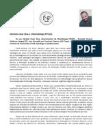 Ideraldo Cesar Silva - Qualificação e Metodologia EPSI