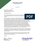 Hoeven Cramer Wind Subsidies Letter