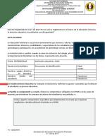 ANEXO 2.5. Acta de Acuerdo SEM