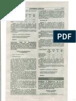 MODIFICAN REGLAMENTO DE LA LEY Nº 28705, LEY GENERAL PARA LA PREVENCIÓN Y CONTROL DE LOS RIESGOS DEL CONSUMO DEL TABACO