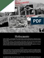 Dia Internacional da Memoria das Vitimas do Holocausto