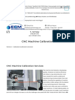 CNC Machine Tool Calibration