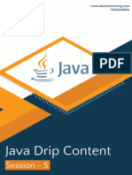 Java Session 5