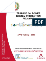 Principles of Protection By AREVA. 2008