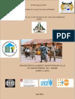 Cahier des villages et quartiers de ville de l Oueme