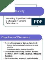 Ch 6 Demand Elasticity
