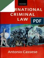 Cassese - International Criminal Law (2003, Oxford University Press) - libgen.lc