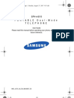 Samsung m510 Instructions