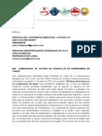 COMUNICADO SINDICATOS COLOMBIA