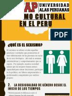 SEXISMO CULTURAL EN EL PERU