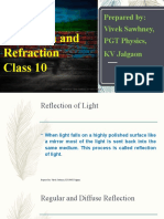 Class 10 Chapter-Light -Reflection and Refraction