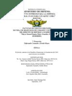 Proyecto Gustavo Taveras y Jorge Bueno- Derecho Castrense y Constiucion 2010 Modif. EMAM 18-11-2019